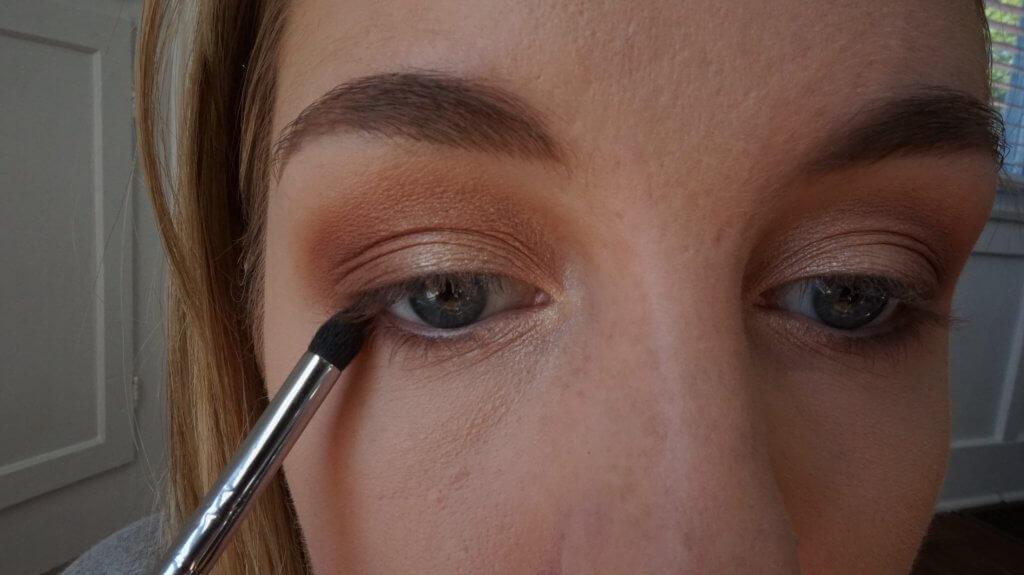 lower lash line eyeshadow