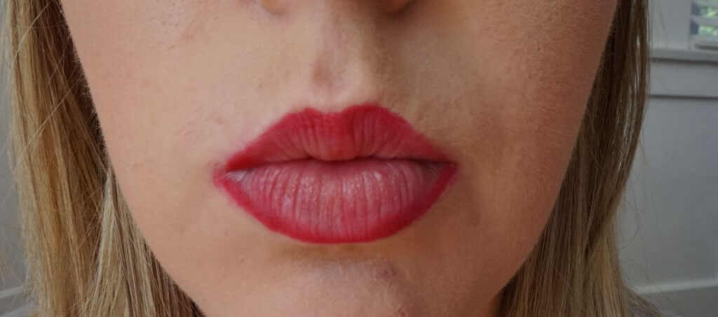 lined lips