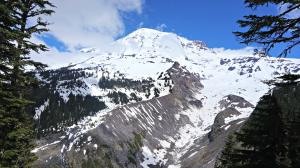 mount rainier glacier