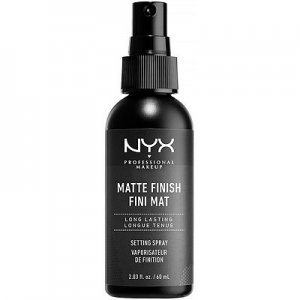 nyx matte setting spray