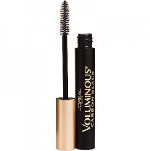 loreal voluminous carbon black mascara