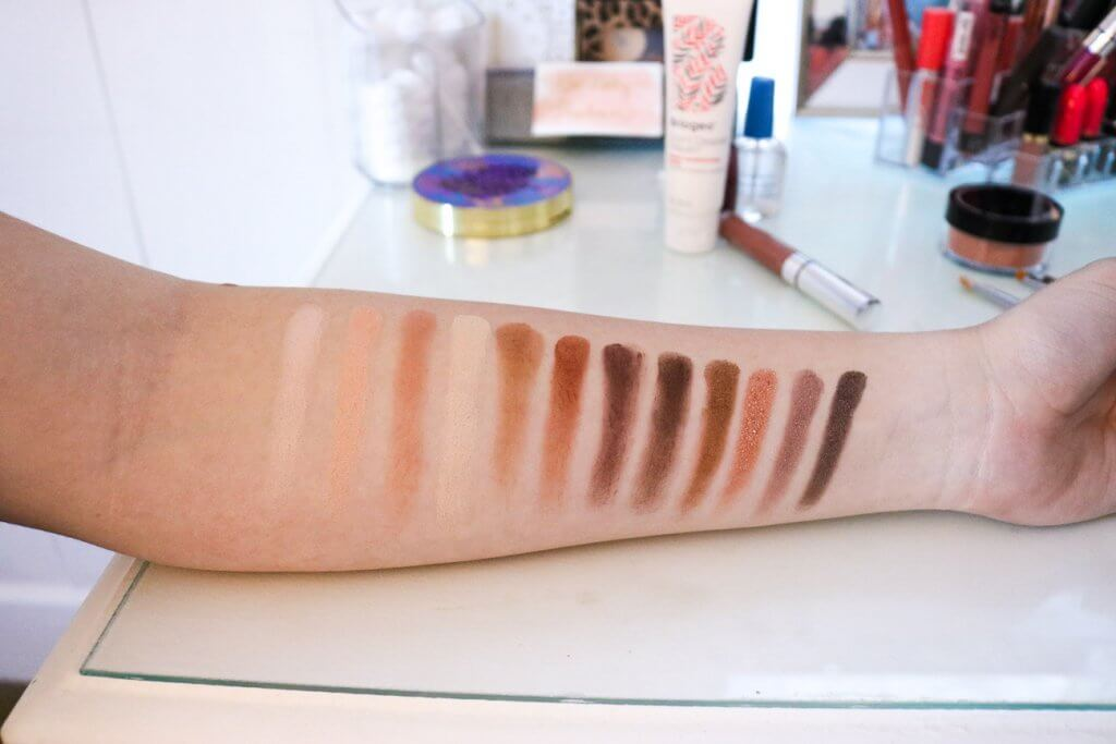 pur soiree diaries swatches
