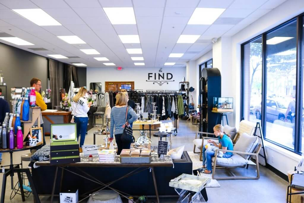 The Find Fort Wayne interior store