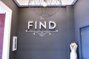 The Find Fort Wayne interior sign 2