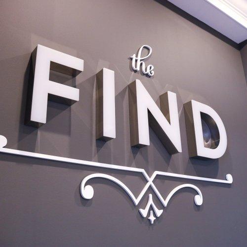 The Find Fort Wayne interior sign 3