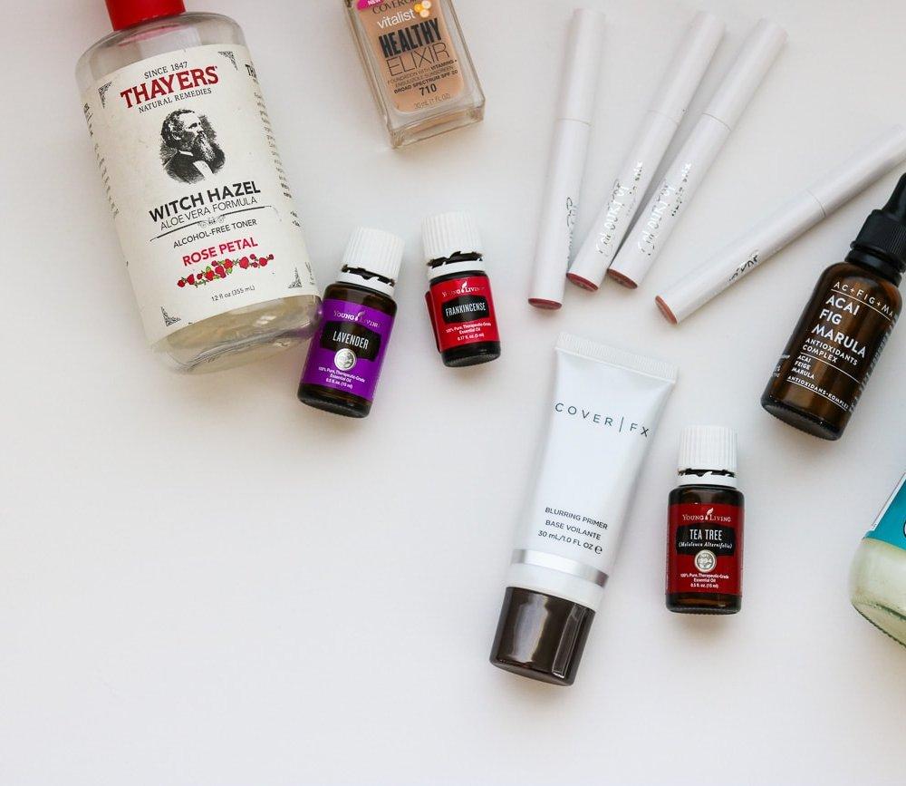 spring beauty favorites makeup skincare oils health