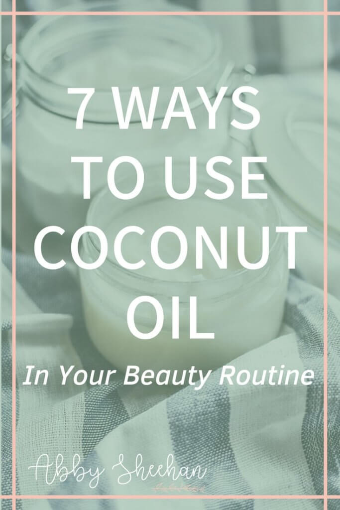 uses for coconut oil in your beauty routine