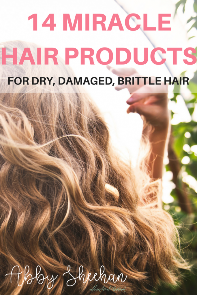 14 Miracle Products for Dry, Brittle, Damaged Hair | Abby Sheehan