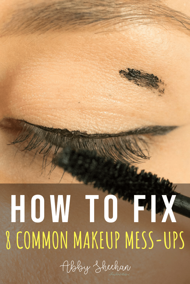 Don't panic when you have one of these common makeup mishaps! Happens to everyone...so here's how to easily fix it and continue looking FLAWLESS!
