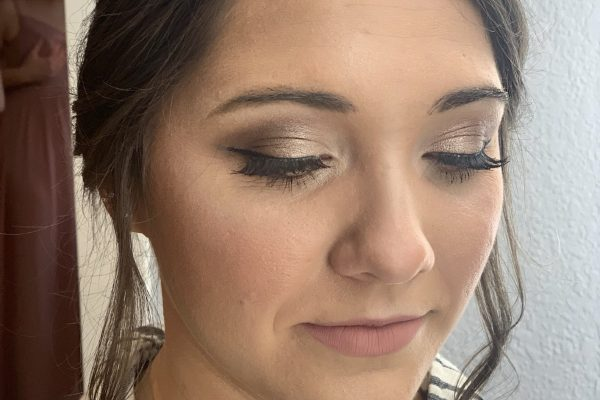 fort wayne wedding makeup brenna